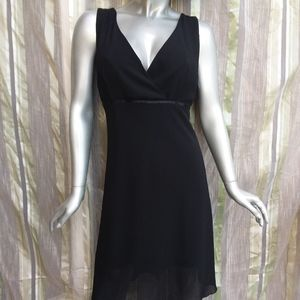 3 for $25 Large/XL Empire Dress Black Sleeveless